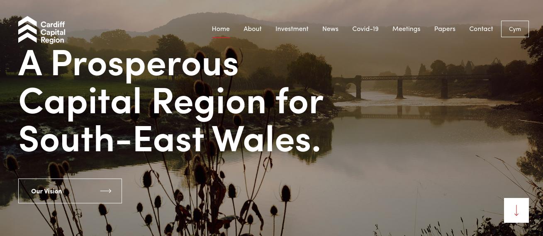 Cardiff Capital Region homepage image